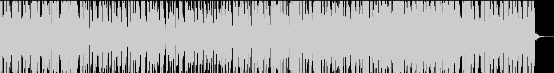 生サックスがお洒落なファンクの未再生の波形
