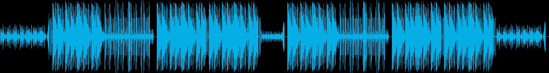 不気味なTrap Beatの再生済みの波形
