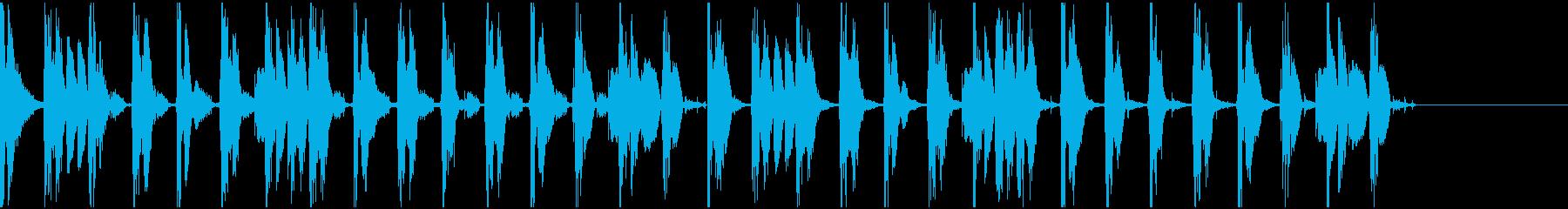 【エレクトロニカ】ロング5、ショート1の再生済みの波形