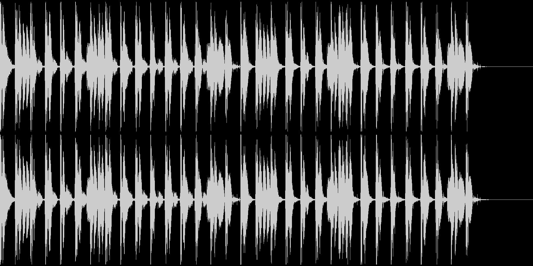 【エレクトロニカ】ロング5、ショート1の未再生の波形