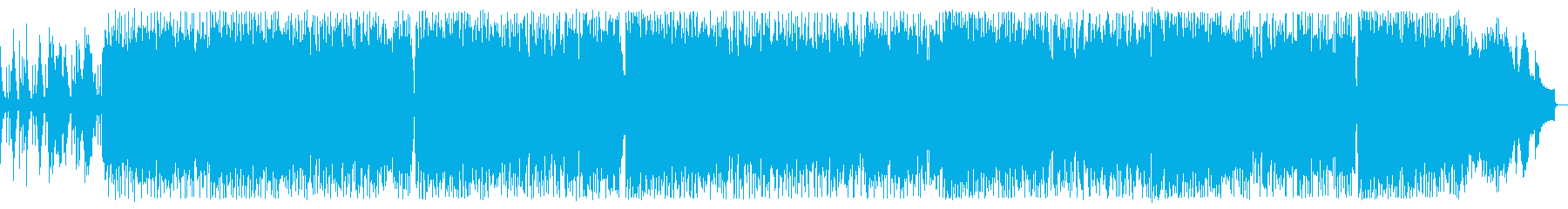 天気予報BGM(ピアノ中心のバラード)の再生済みの波形