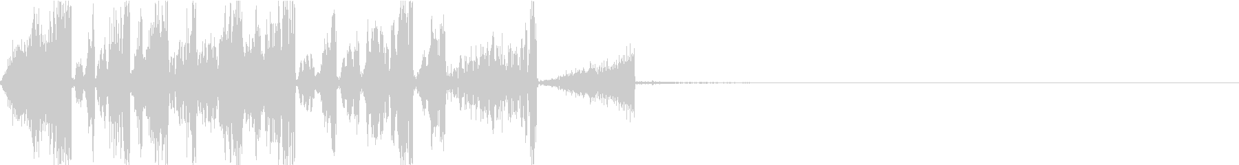 ラップバトル等でDJが巻き戻す音_2の未再生の波形