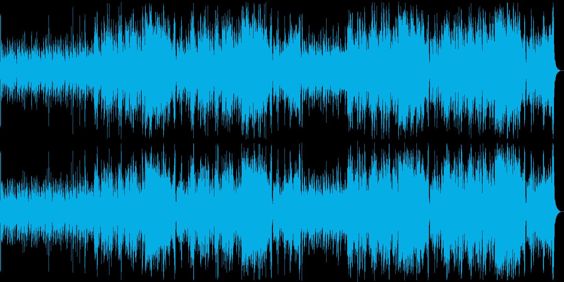 何かが起こりそうな予感のジャズの再生済みの波形