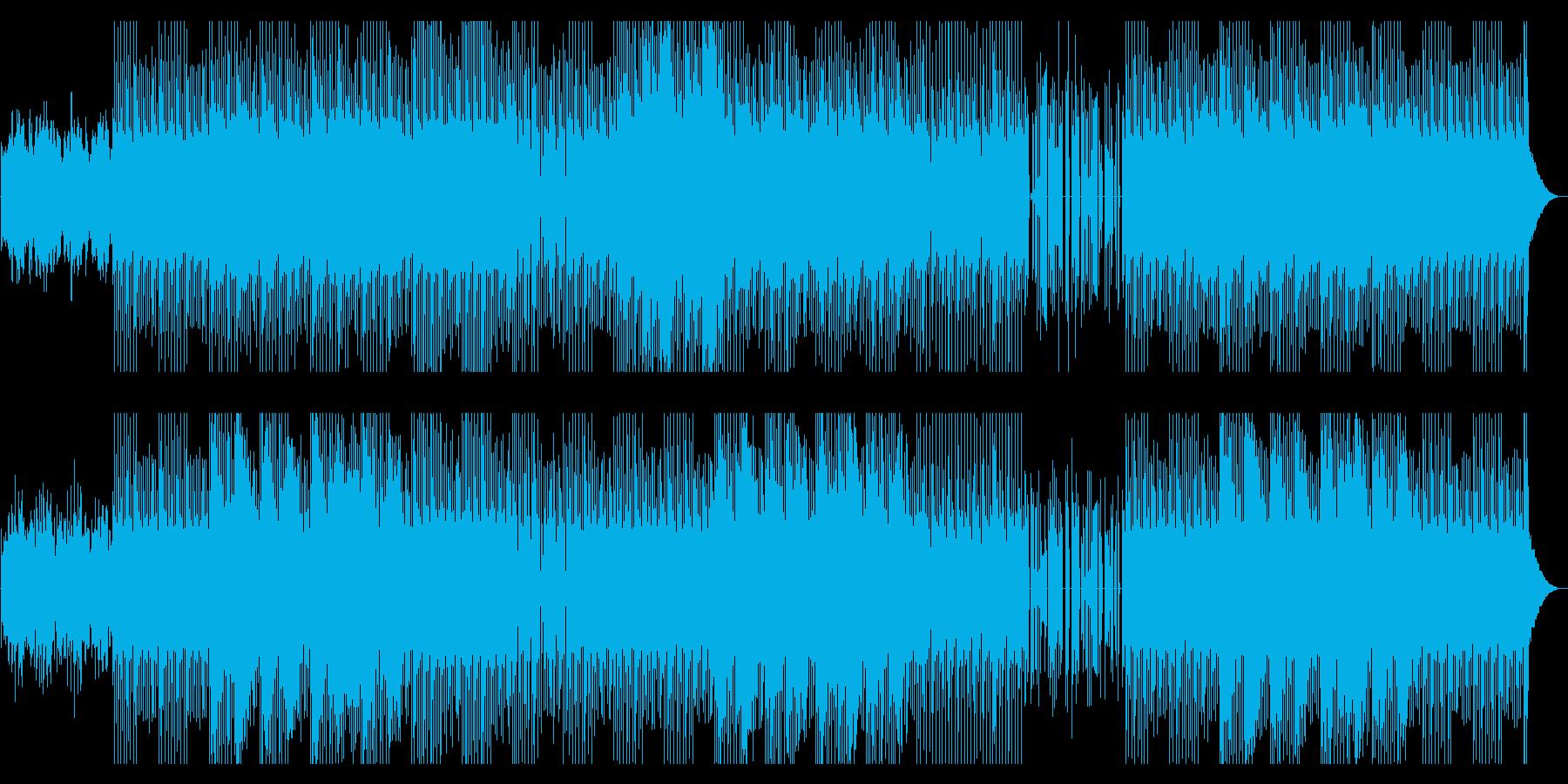 『近代わらべbeat』懐古で元気な電子系の再生済みの波形