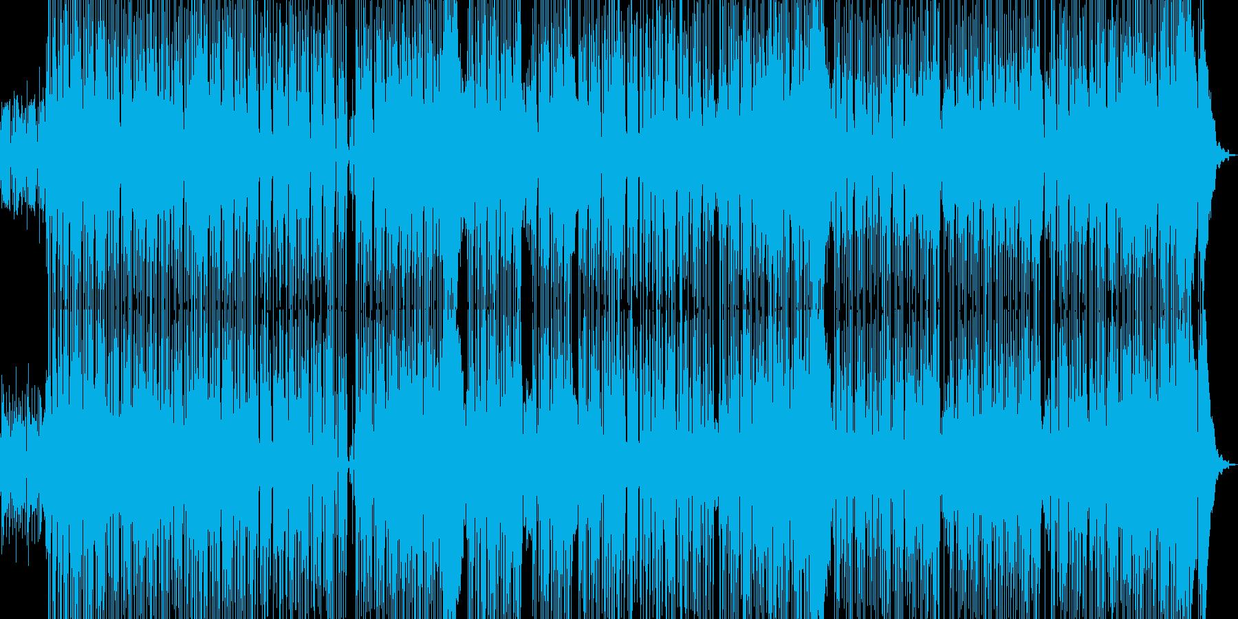 カクテル・バーをイメージしたジャズの再生済みの波形