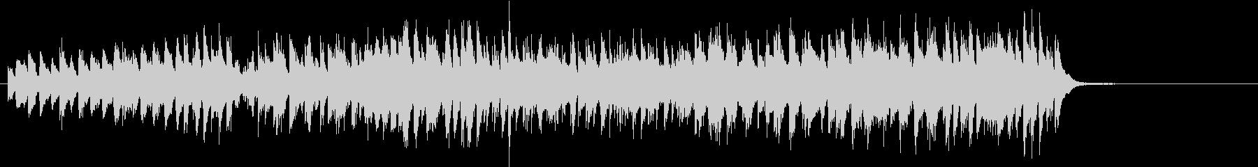アップテンポ明るいジャズバンドサウンドの未再生の波形