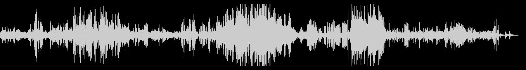 ノクターン(夜想曲) 第8番 ショパンの未再生の波形
