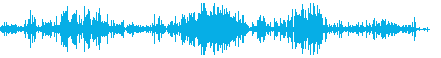 ノクターン(夜想曲) 第8番 ショパンの再生済みの波形