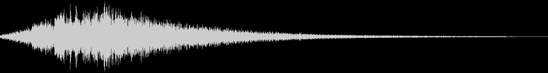 【ダークアンビエント】 ダークマターの未再生の波形