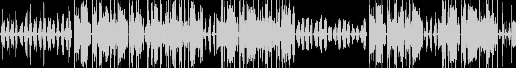 深夜のLo-Fiビートの未再生の波形