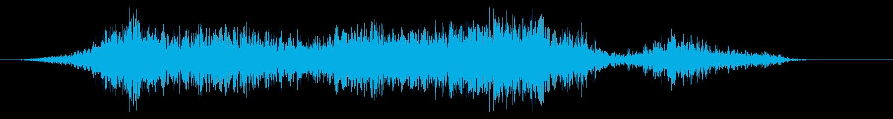 アニマルスティンガー;複数のライオ...の再生済みの波形