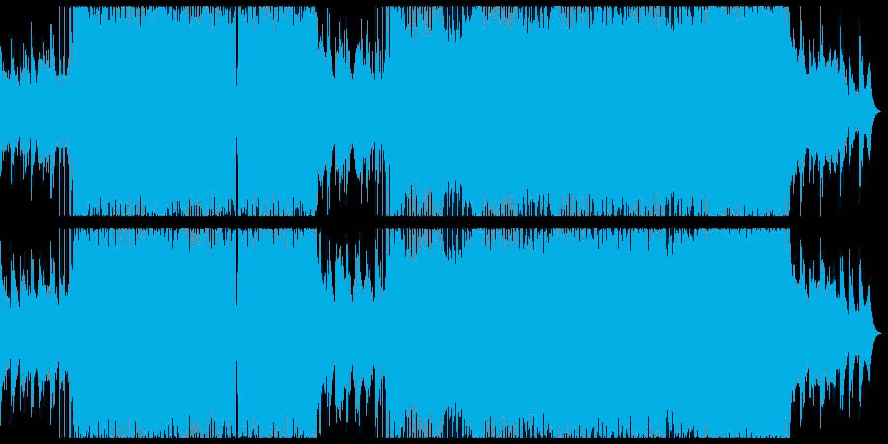 ピアノの穏やかなリキッドドラムンベース。の再生済みの波形