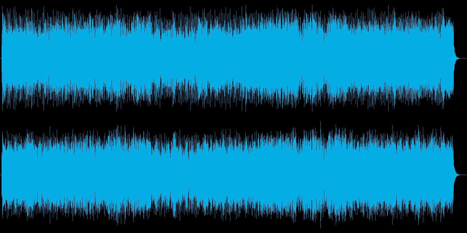 疾走感とキャッチーなシンセサウンドの再生済みの波形