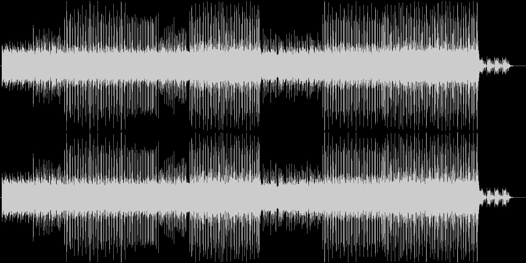 洋楽、ダークで軽快なヒップホップサウンドの未再生の波形