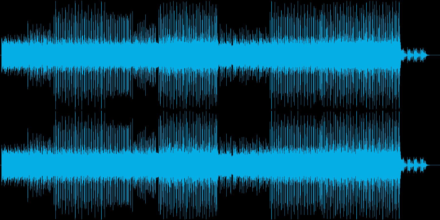 洋楽、ダークで軽快なヒップホップサウンドの再生済みの波形