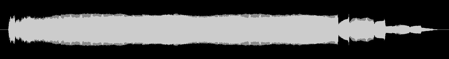 シンセサイザー 金属オルガンハイ02の未再生の波形