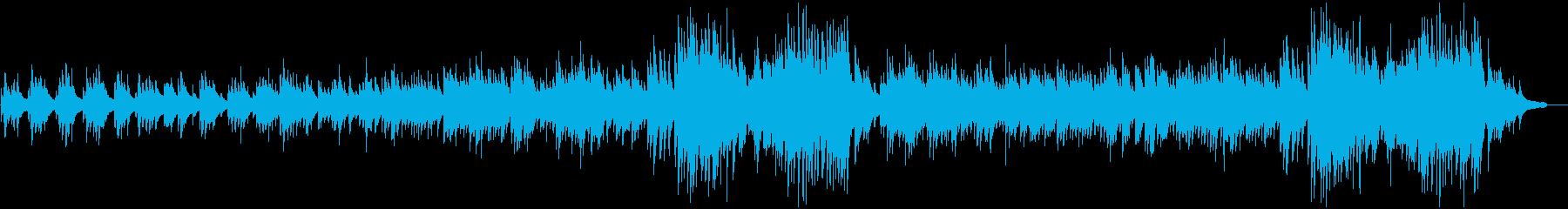 ピアノソロ:カフェのようなおしゃれさの再生済みの波形