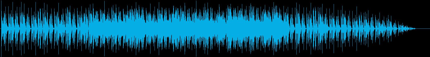 コミカル中華風の再生済みの波形
