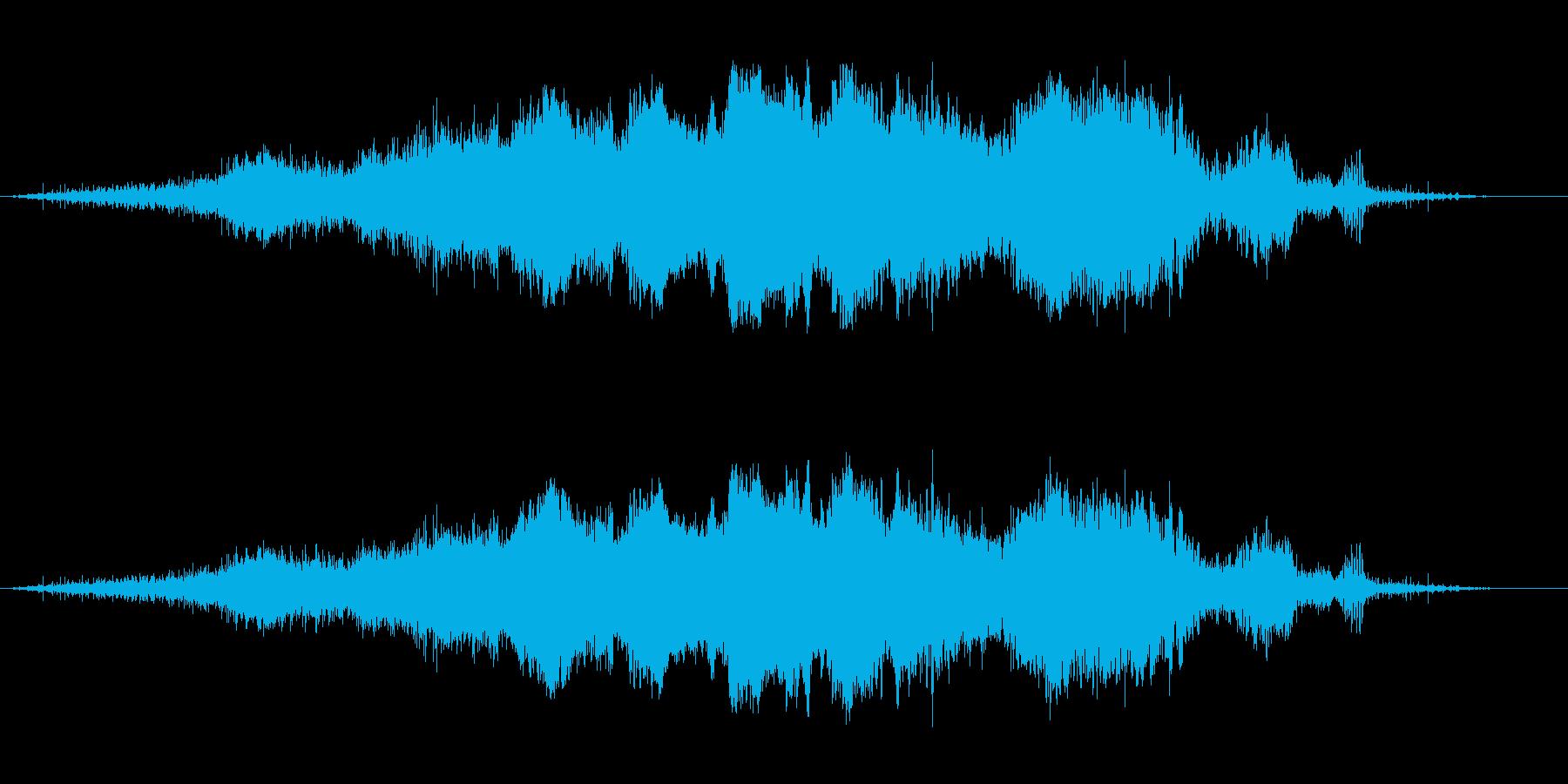 小型モーター:ワインド、フォリーの再生済みの波形