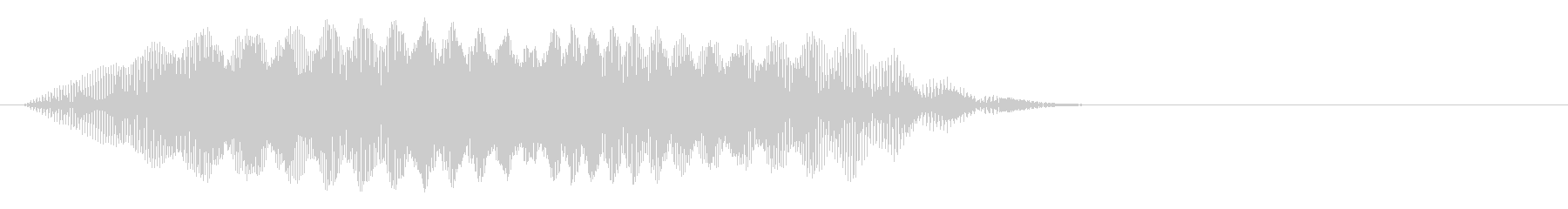 ヒュイ~_コミカルな投げる音の未再生の波形