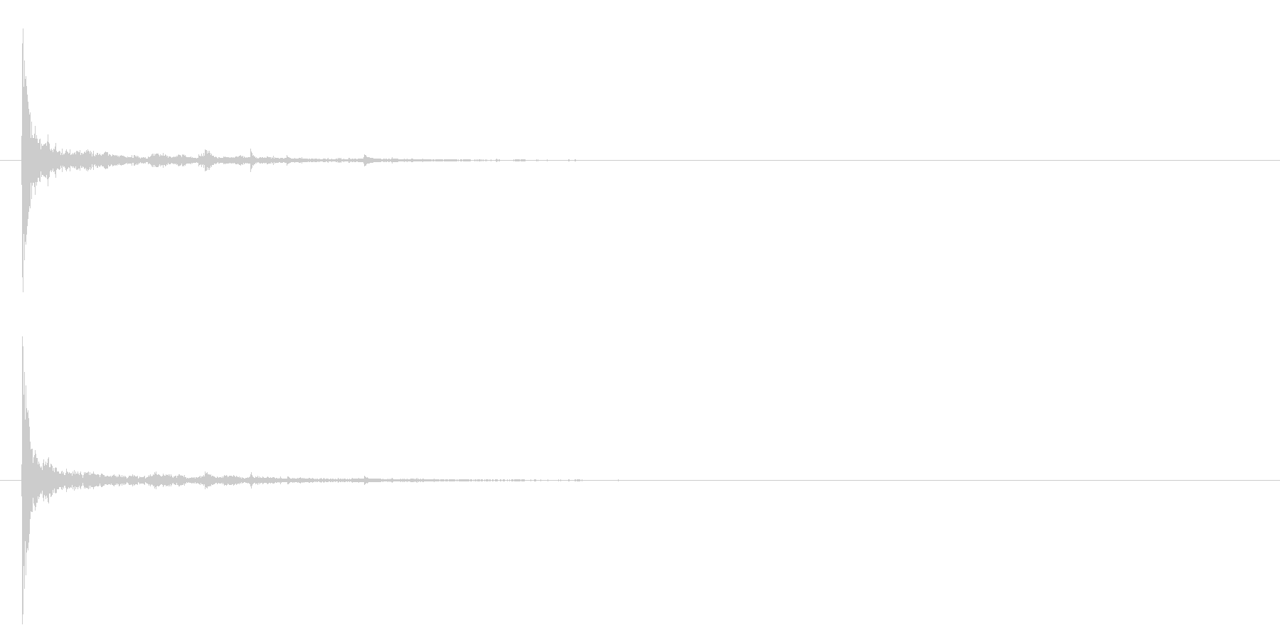 電球の破裂-03の未再生の波形