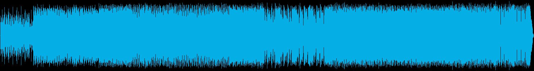 エレクトロロックインスト高騰-動機...の再生済みの波形
