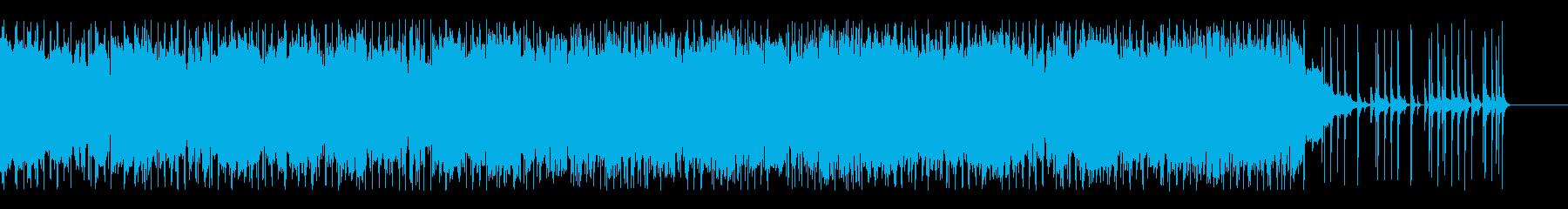 もう一度頑張ろうというイメージのポップスの再生済みの波形