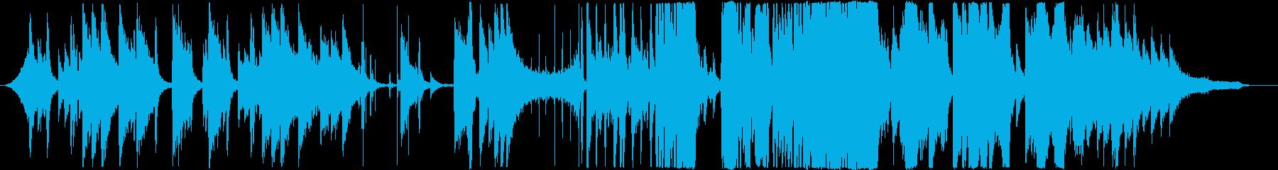 ホラー/ノスタルジック/ピアノ/バイオリの再生済みの波形