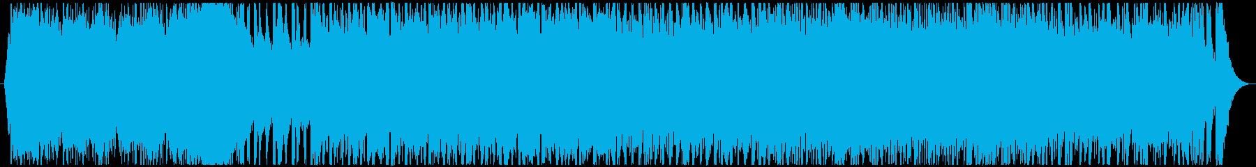 シネマティックなアジアンオーケストラの再生済みの波形
