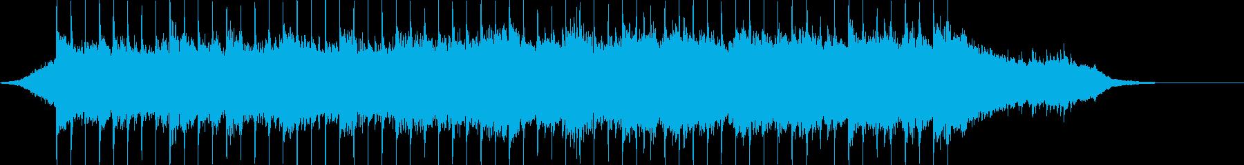 企業VP系73、爽やかギター4つ打ちcの再生済みの波形