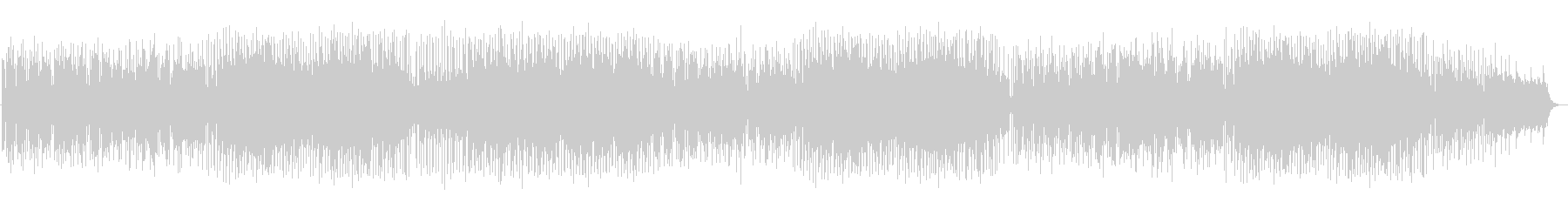ラテンテイストのフュージョン曲の未再生の波形