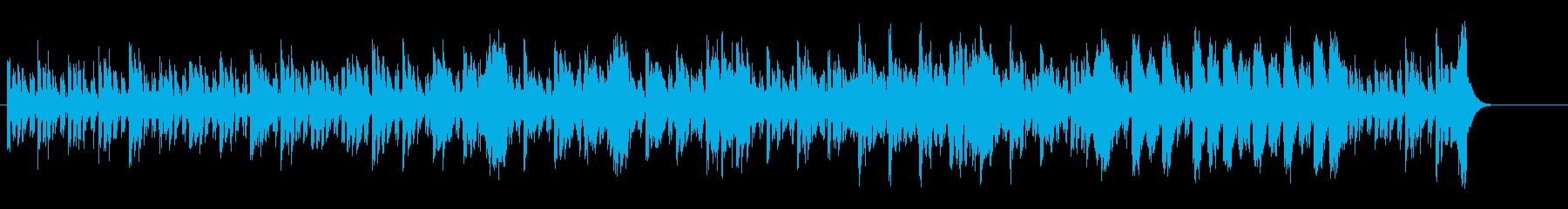 報道/ドキュメンタリー向けサウンドの再生済みの波形