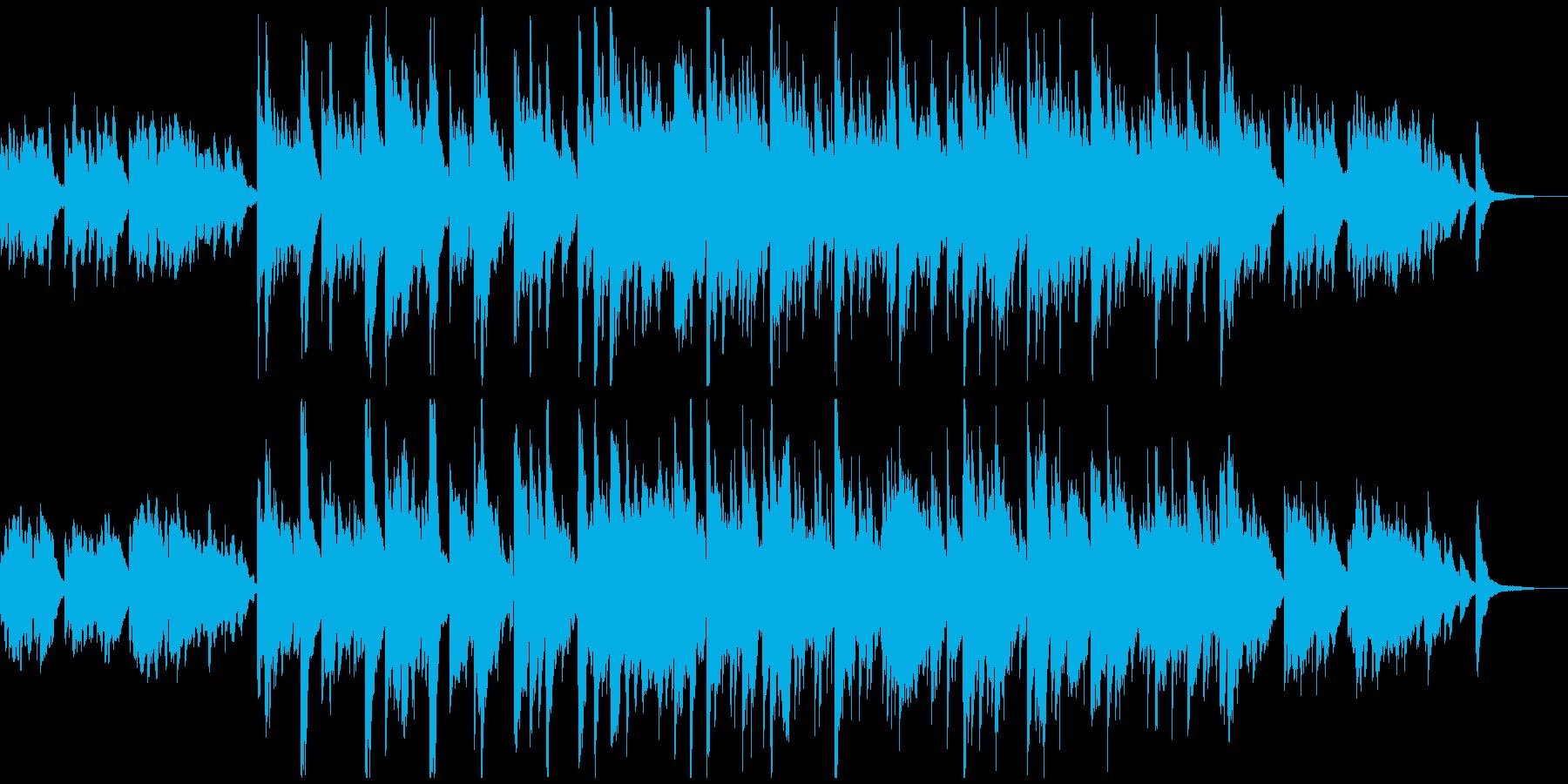 爽やかな朝のBGMの再生済みの波形
