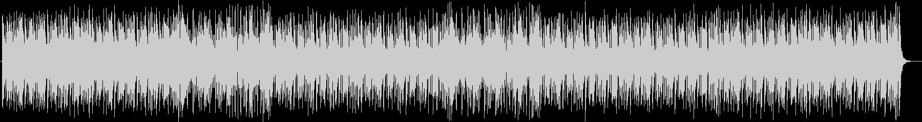 陽気なピアノポップスの未再生の波形