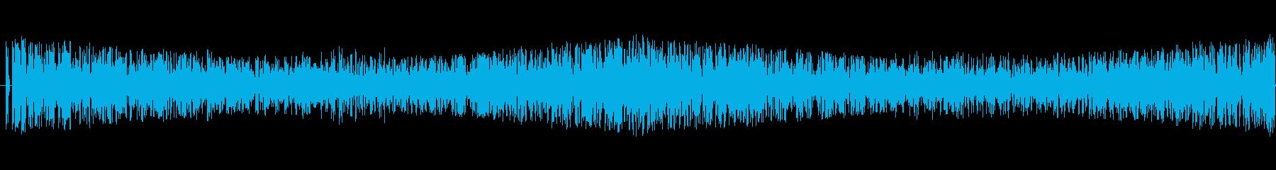 嵐/竜巻の効果音に最適です!ループ可能1の再生済みの波形