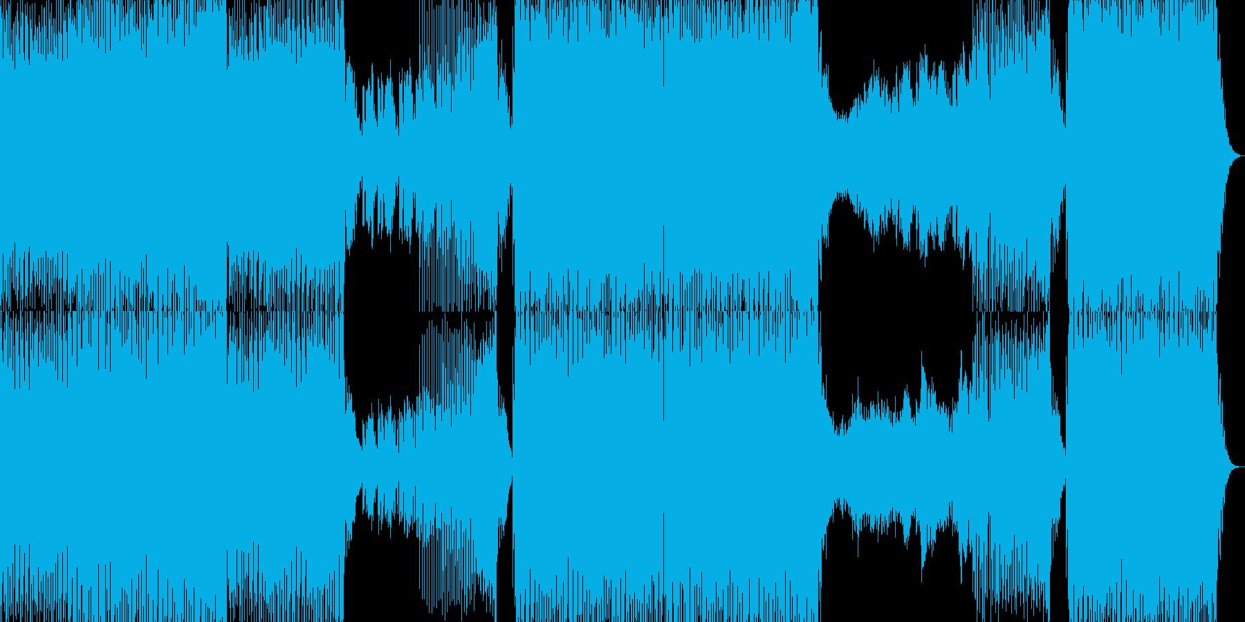 エネルギッシュでファンキーなEDMの再生済みの波形
