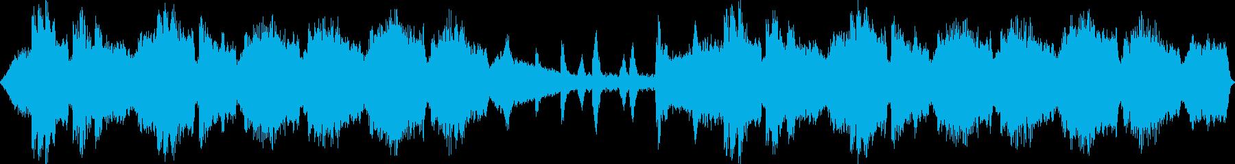 静かで癒し系のバラードの再生済みの波形