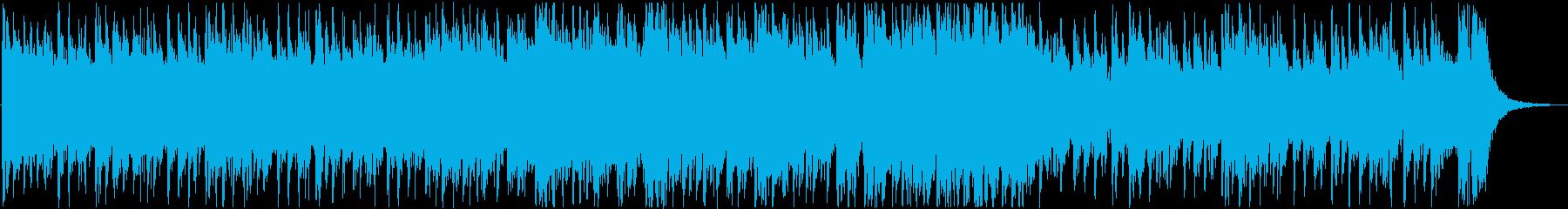 ダークで響きがかっこいいメロディーの再生済みの波形