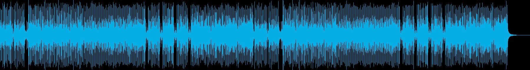 生演奏三味線 和風ダンス和を伝えるBGMの再生済みの波形
