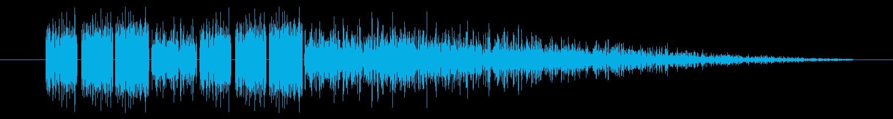 SNES-RPG04-07(魔法 雷3)の再生済みの波形