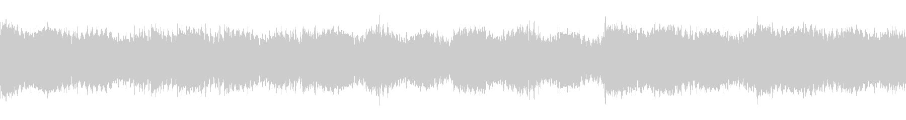 未来感のある無機質なテクスチャー系BGMの未再生の波形
