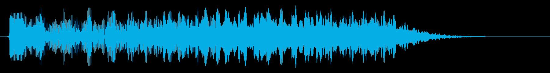 キラキラリン(アップグレード)の再生済みの波形