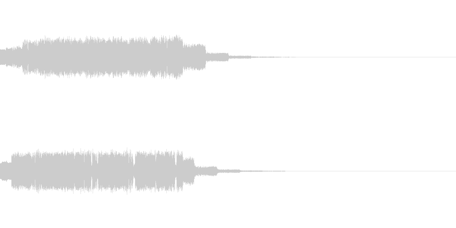 SF・宇宙チックな効果音の未再生の波形