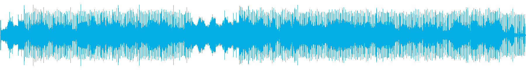 意識世界のような電脳的なテクノの再生済みの波形