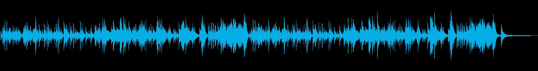 悲しい 切ないシーン向け ピアノソロの再生済みの波形