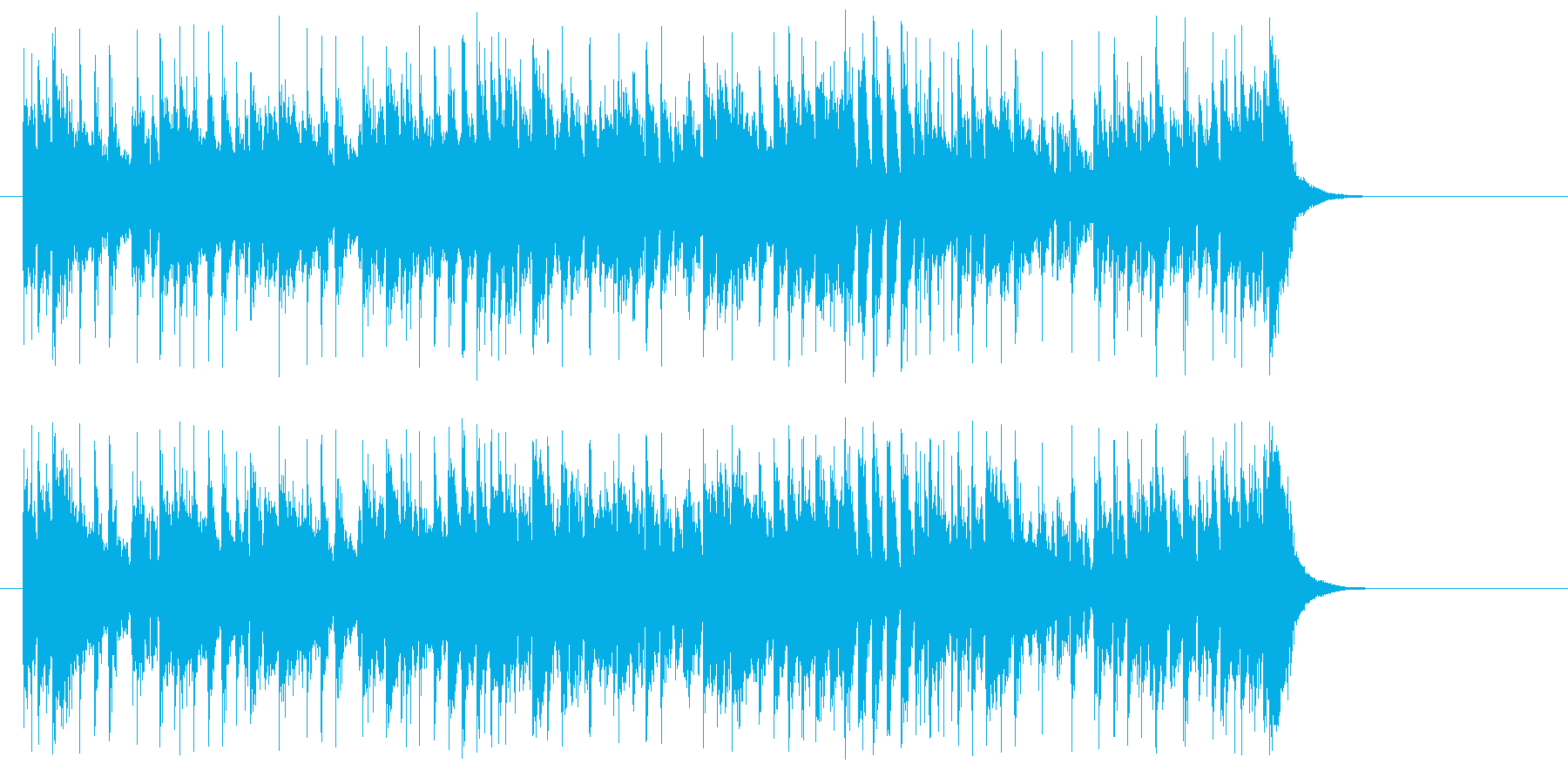 """都会的グルーブ感""""カッコイイ""""サウンドの再生済みの波形"""