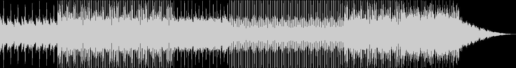 おしゃれでギターの旋律が印象的なハウスの未再生の波形