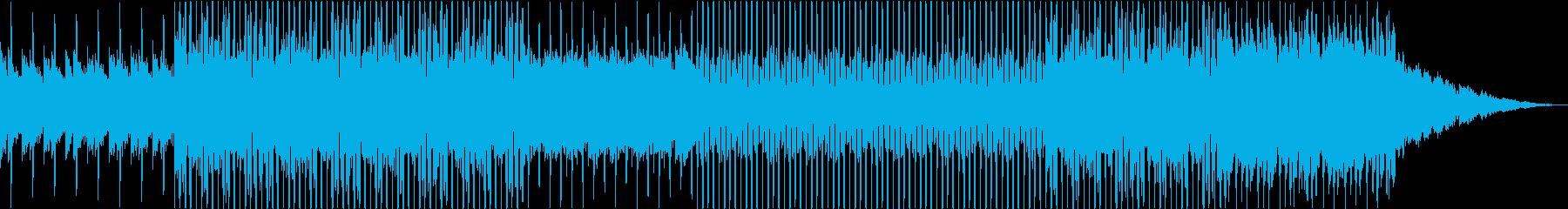 おしゃれでギターの旋律が印象的なハウスの再生済みの波形