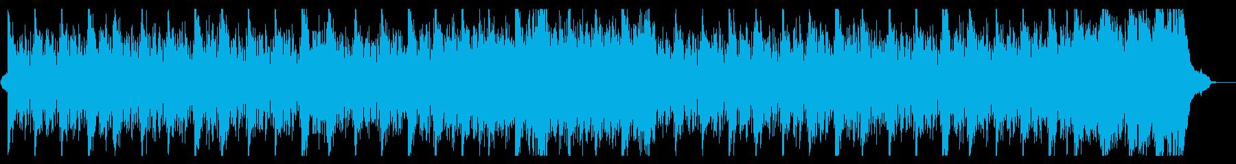 幸せで温かいオーケストラ企業VPの再生済みの波形