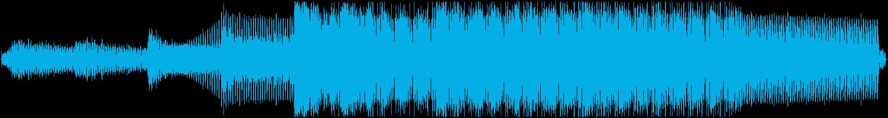 シンセの浮遊感と特徴的なリズムの高揚感の再生済みの波形